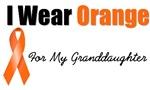 I Wear Orange For My Granddaughter