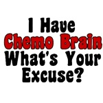 Funny Chemo Brain T-Shirts & Gifts
