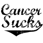 Grunge Style Cancer Sucks T-Shirts & Gifts