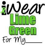 I Wear Lime Green Ribbon Lymphoma T-Shirts & Gifts