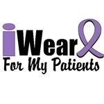 I Wear Violet Ribbon For My Patients