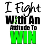 I Fight With An Attitude To Win Lymphoma T-Shirts