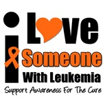 I Love Someone With Leukemia T-Shirts & Gifts