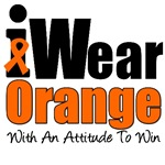 I Wear Orange With An Attitude To Win T-Shirts