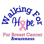 Walking For Breast Cancer Awareness T-Shirts