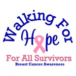 Walking For Hope For All Survivors T-Shirts