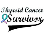 Thyroid Cancer Survivor Grunge T-Shirts & Gifts