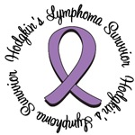 Hodgkin's Lymphoma Survivor Ribbon T-Shirts