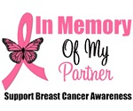 In Memory of My Partner Breast Cancer Shirts