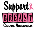 Support Breast Cancer Awareness T-Shirts & Gifts