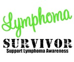 Lymphoma Survivor Grunge T-Shirts & Gifts