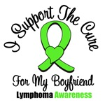 I Support The Cure For Boyfriend Lymphoma Shirts