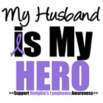 Hodgkin's Lymphoma Hero (Husband) Shirts