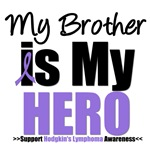 Hodgkin's Lymphoma Hero (Brother) T-Shirts