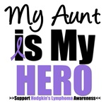 Hodgkin's Lymphoma Hero (Aunt) T-Shirts