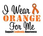 I Wear Orange Ribbon Grunge Shirts