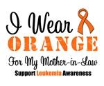 I Wear Orange For Mother-in-Law  Grunge Shirts