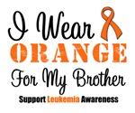 I Wear Orange For My Brother Grunge Shirts