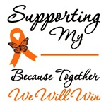 Orange Ribbon Support Shirts & Gifts