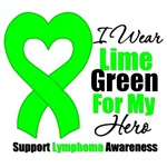 I Wear Lime Green For My Hero Shirts & Gifts