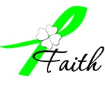 Lymphoma Faith Ribbon T-Shirts & Gifts