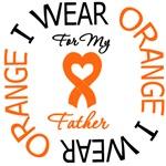 I Wear Orange Father Leukemia Shirts