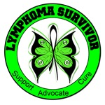 Lymphoma Survivor Butterfly Shirts & Gifts