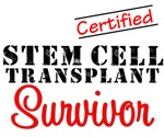 Certified Stem Cell Transplant Survivor Shirts