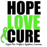 Non-Hodgkin's Lymphoma Hope Love Cure Shirts