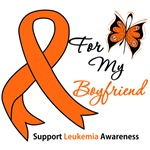 Leukemia Ribbon For My Boyfriend Shirts & Gifts
