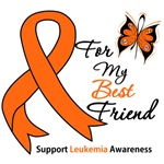 Leukemia Ribbon For My Best Friend Shirts