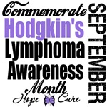 Commemorate Hodgkin's Lymphoma Awareness Month Tee