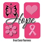 Hope Breast Cancer T-Shirts and Gifts