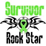 Lymphoma Survivor Rock Star Shirts