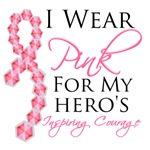 Hero's Inspiring Courage Breast Cancer Gifts