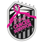 Breast Cancer Survivor Crest Ribbon Shirts and Gif