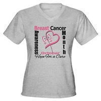 Breast Cancer Month Heart Butterfly Shirts