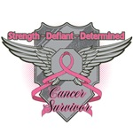 Breast Cancer Survivor Strength Shirts