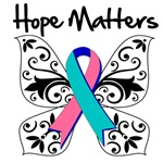Thyroid Cancer Hope Matters Shirts and Gifts