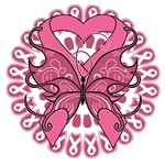 Breast Cancer Butterfly Shirts and Gifts