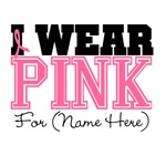 Custom Pink Breast Cancer Shirts