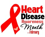 Heart Disease Awareness Month Shirts and Gifts