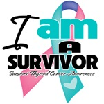 I am a Thyroid Cancer Survivor Shirts and Gifts