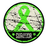 Distressed Lymphoma Survivor Shirts and Gifts