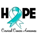 Hope Cervical Cancer Shirts and Gifts