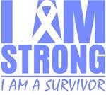 I am Strong Esophageal Cancer Shirts