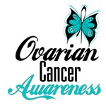 Butterfly Ovarian Cancer Awareness Shirts and Gift