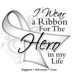 Bone Cancer Hero in My Life Shirts