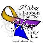 Bladder Cancer Hero in My Life Shirts