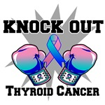 Knock Out Thyroid Cancer Shirts